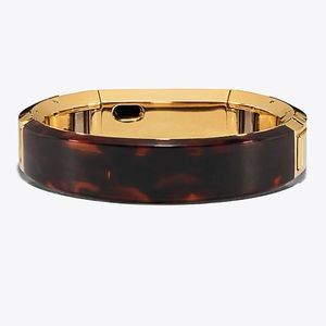 e9c8aafa2f3a Tory Burch Accessories - Tory Burch for Fitbit Alta Tortoise Bracelet Band
